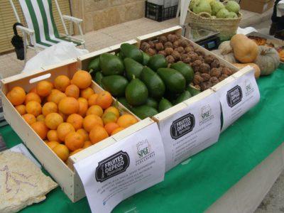 Frutas certificación CAE Ecollaures Agroecologia Fruites Pego
