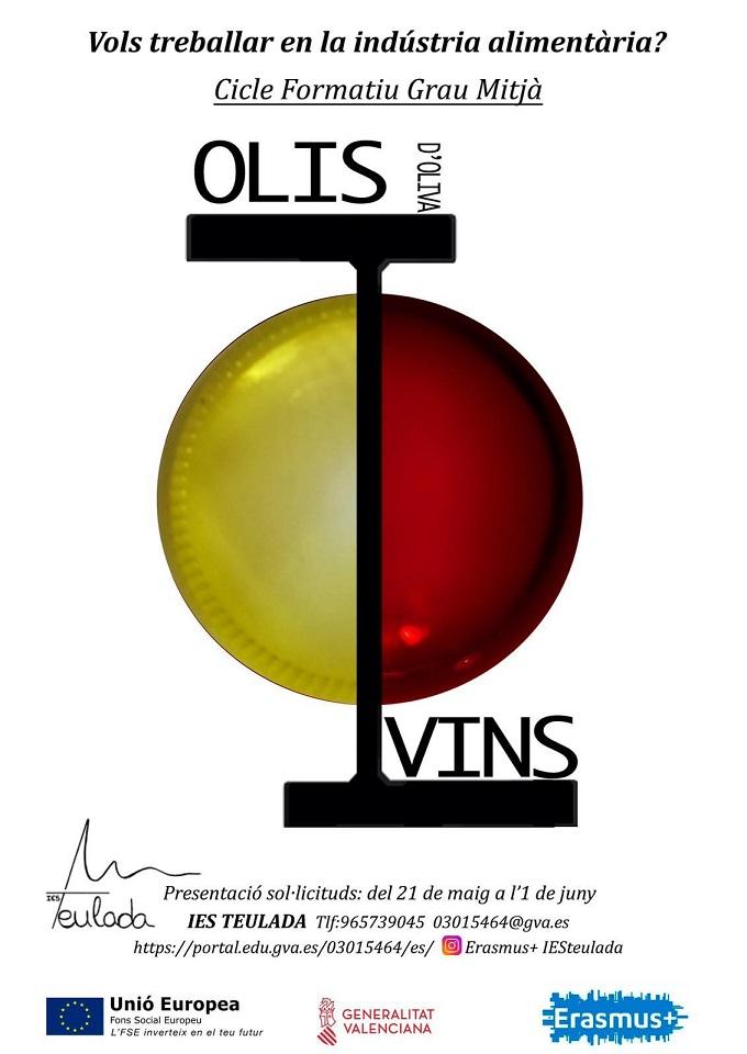 IES Teulada olis i vins