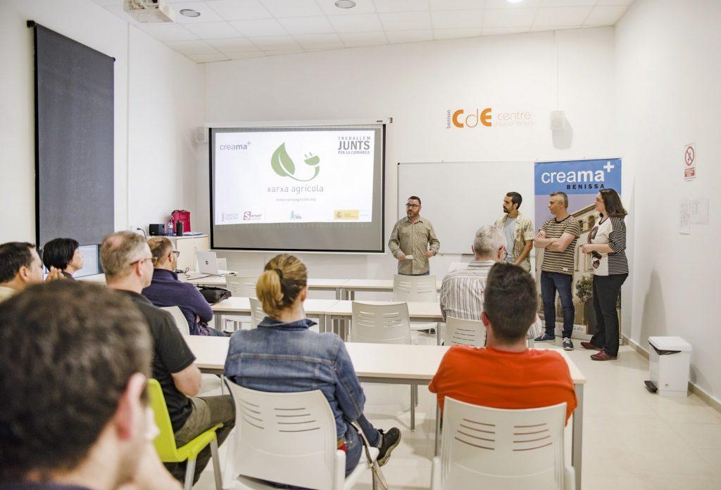 Presentación Xarxa agrícola Marina Alta Hub Tecnológico Benissa
