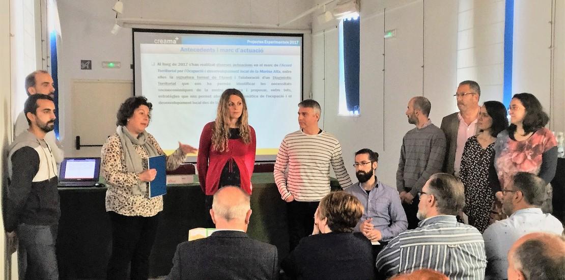 Pedreguer Presentación Proyectos Experimentales Marina Alta